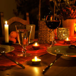 Романтический ужин: новогодняя версия