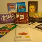 Компания выпускает и черный, и молочный шоколад