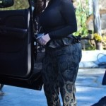 Ким Кардашьян сильно потолстела