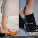 Как носить мюли без каблука?