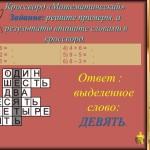 Умножение на 1 и 0 (математика 3 класс)