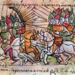 Согласно традиционной российской историографии, после безуспешного похода хана Большой Орды Ахмата и так называемого «Стояния на Угре» в 1480 году монголо-татарское иго было полностью устранено