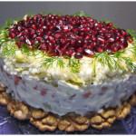 «Сказочный» салат «Красная шапочка»