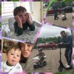 Дмитрий Шепелев на отдыхе с 3-летним сыном Жанны Фриске