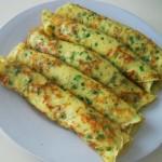Сырные блины с укропом • Блины, оладьи и т